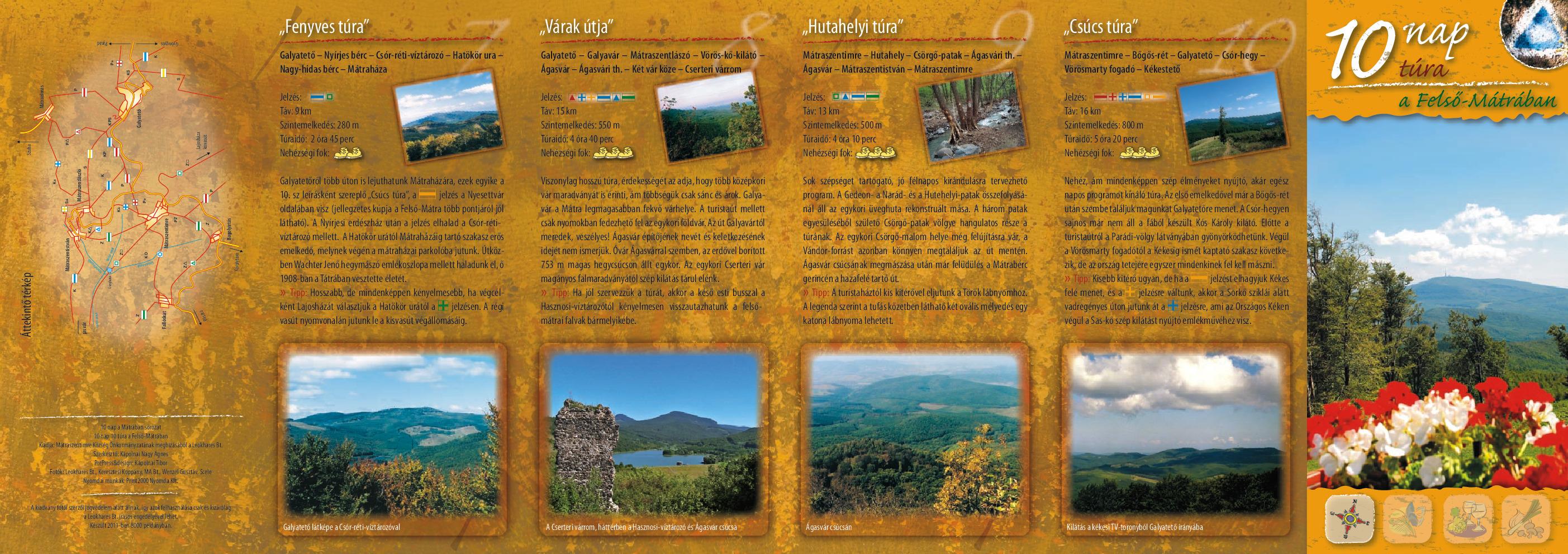 10 nap 10 túra a Felső-Mátrában